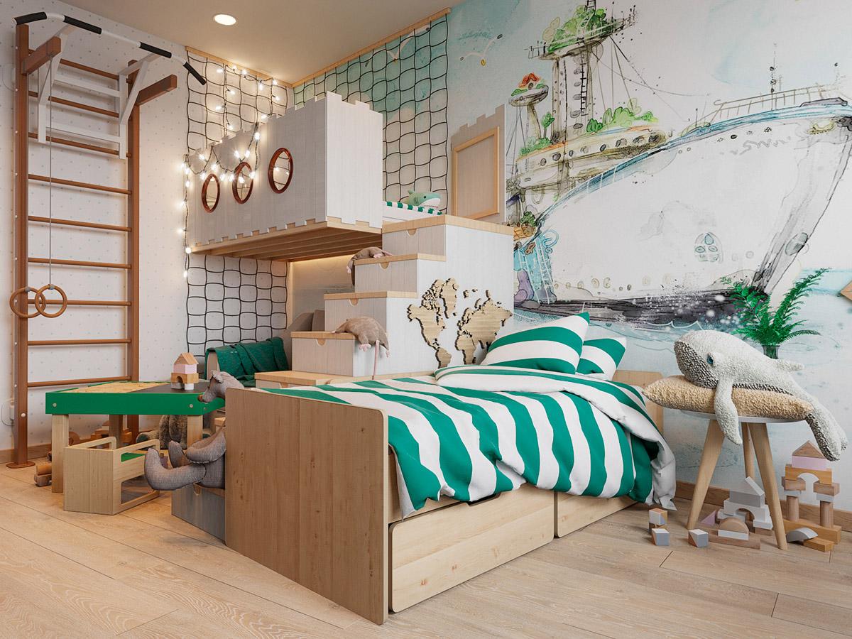 Kid's Bedroom Décor Idea - Where Innovation Meets Functionality